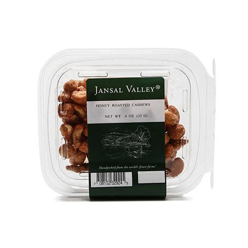 Jansal Valley Honey Roasted Cashews 4 oz