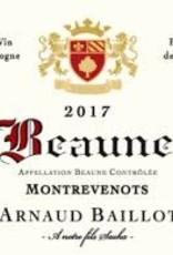 "Arnaud Baillot Beaune Rouge ""Montrevenots"" 2017 - 750ml"