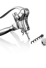 Viski Chrome Lever Corkscrew Set