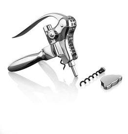Harrison Chrome Lever Corkscrew Set by Viski