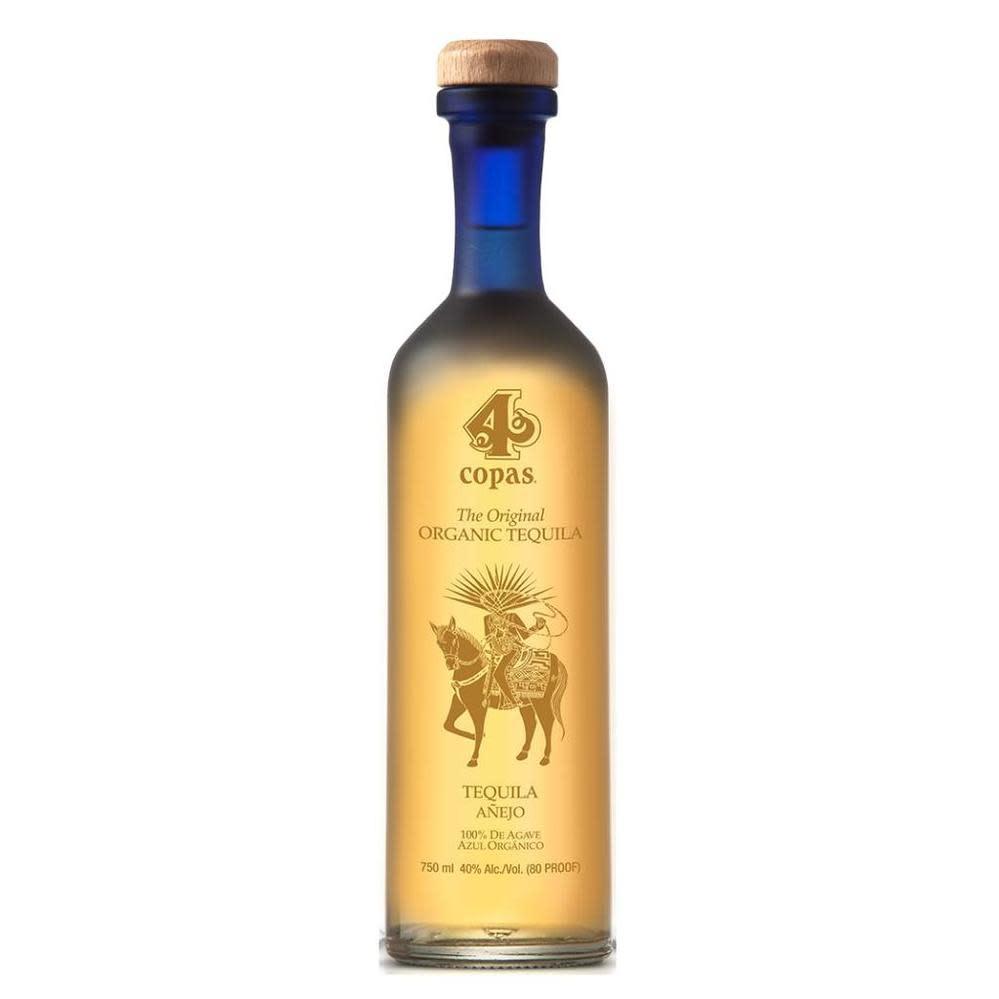 4 Copas Tequila Anejo 750ml