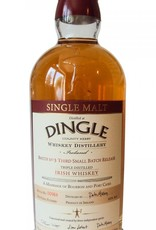 "Dingle Distillery Single Malt Irish Whiskey ""Batch No. 3"" 750ml"