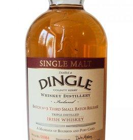 "Dingle Distillery Single Malt Irish Whiskey ""Batch No. 3"" 750ml"