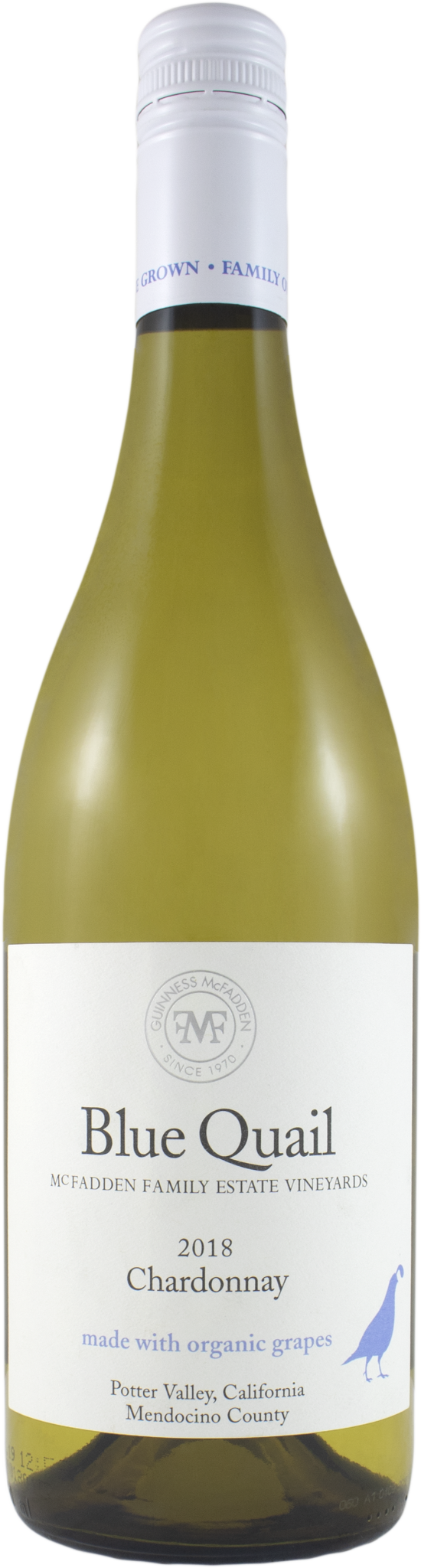Blue Quail Chardonnay Potter Valley 2018 - 750ml