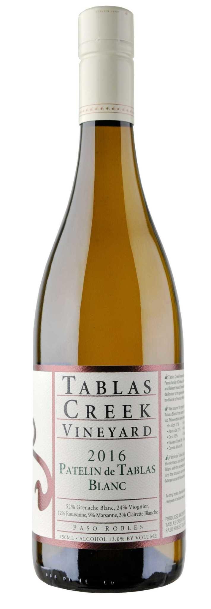 """Tablas Creek """"Patelin de Tablas"""" Blanc 2016 - 750ml"""