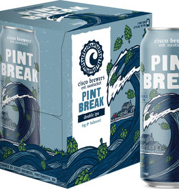 "Cisco Brewers ""Pint Break"" Double IPA Cans 4pk - 16oz"
