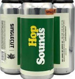 """SingleCut """"Hop Sounds"""" Dry Hopped Ale Cans 4pk - 16oz"""