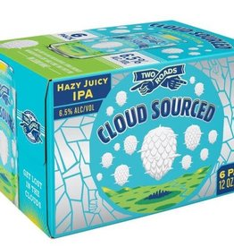 """Two Roads """"Cloud Sourced"""" Hazy IPA Case Cans 4/6pk - 12oz"""
