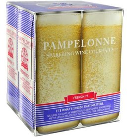 "Pampelonne ""French 75"" Sparkling Wine Cocktails Case Cans 6/4pk - 250ml"