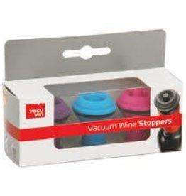 Vacu Vin Vacuum Wine Stoppers - 3pk