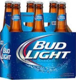 Bud Light Bottles 6pk - 12oz