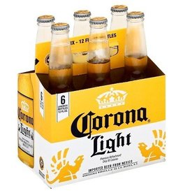 Corona Light Bottles 6pk - 12oz