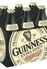 Guinness Extra Stout Bottles 6pk - 12oz