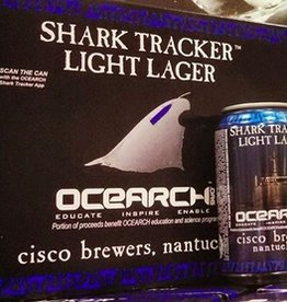 Cisco Brewers Shark Tracker Cans 12pk - 12oz