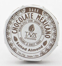 Taza Chocolate Round Salted Almond