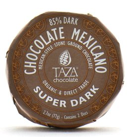 Taza Chocolate Round Super Dark 85%