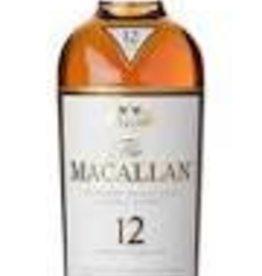 Macallan Scotch Sherry Oak 12 Year 750ml