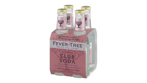 Fever Tree Club Soda 4pk - 6.8oz