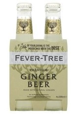 Fever Tree Ginger Beer 4pk - 6.8oz
