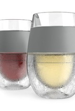 HOST Freeze Cooling Wine Glasses GREY (Set of 2)