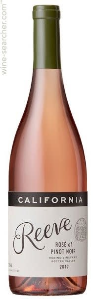 Reeve Rosé of Pinot Noir 2018 - 750ml