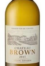 Chateau Brown Pessac-Léognan Blanc 2015 - 750ml