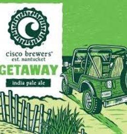 Cisco Brewers Getaway IPA Case Cans 2/12pk - 12oz