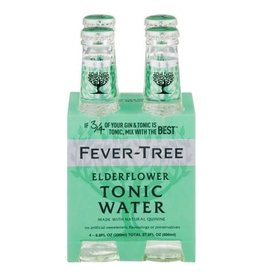 Fever Tree Elderflower Tonic 4pk - 6.8oz