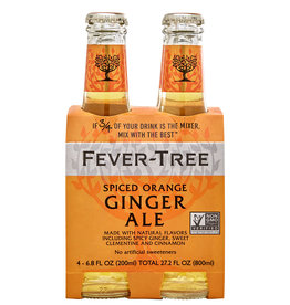 Fever Tree Spiced Orange Ginger Ale 4pk - 6.8oz