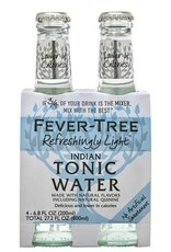 Fever Tree Refreshingly Light Tonic Water 4pk - 6.8oz