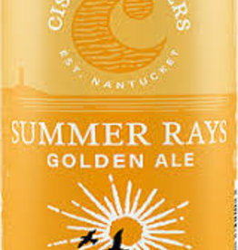 Cisco Brewers Summer Rays Golden Ale Case Cans 2/12pk - 12oz