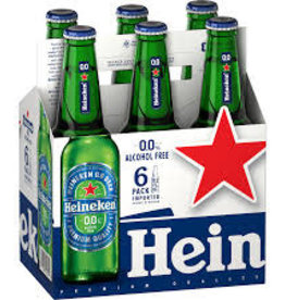 Heineken OO N/A Bottles 6pk - 12oz