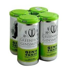 Greenhook Ginsmiths Gin & Tonic 4pk - 200ml