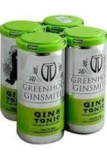Greenhook Ginsmiths Gin & Tonic 4pk - 200ml