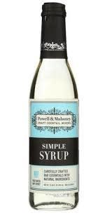 Powell & Mahoney Simple Syrup 375ml