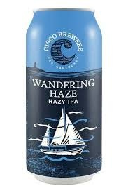 "Cisco Brewers Wandering Haze ""Hazy IPA"" Case Cans 2/12pk - 12oz"