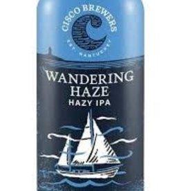 "Cisco Brewers Wandering Haze ""Hazy IPA"" Cans 12pk - 12oz"