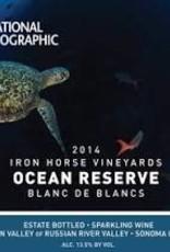 "Iron Horse Blanc de Blancs ""Ocean Reserve"" 2015 - 750ml"
