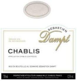 Sebastian Dampt Chablis 2018 - 750ml