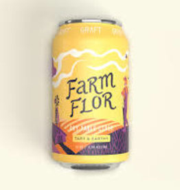 Graft Farm & Flor Dry Table Cider Cans 4pk - 12oz