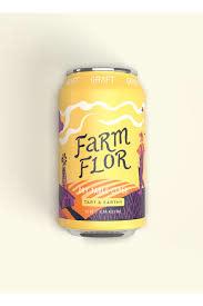 Graft Farm & Flor Dry Table Cider Cans 4pk - 12oz
