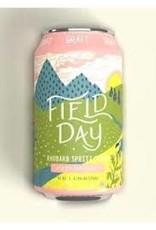 Graft Field Day Rhubarb Spritz Cider Cans 4pk - 12oz