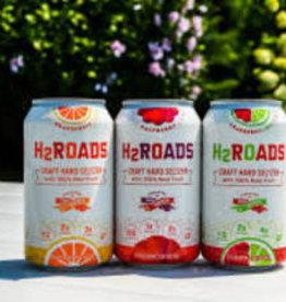 H2Roads Craft Seltzer Variety Cans 12pk - 12oz