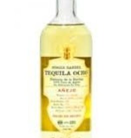 Tequila Ocho Single Barrel Anejo 100% Puro de Agave 750ml