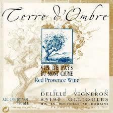 """Domaine de Terrebrune """"Terre d'Ombre"""" Bandol Rouge 2018 - 750ml"""