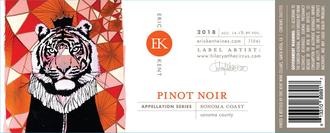 Eric Kent Appellation Series Pinot Noir Russian River Valley 2018 - 750ml