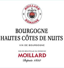 Moillard Bourgogne Hautes Cotes de Nuits Blanc 2017 - 750ml