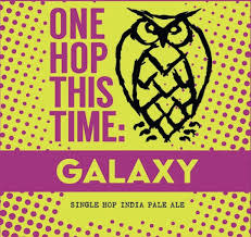 """Nightshift Brewing """"One Hop This Time - Galaxy"""" IPA Cans 4pk - 16oz"""