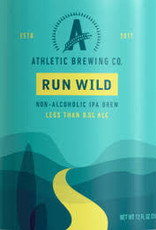 Athletic Brewing Run Wild IPA NA Cans Case 4/6pk - 12oz