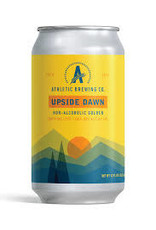 Athletic Brewing Upside Dawn Golden Ale NA Cans Case 4/6pk - 12oz